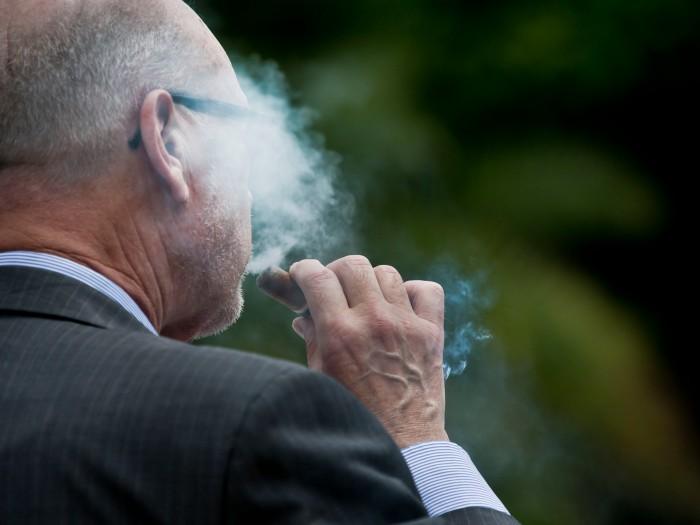 Smoker face