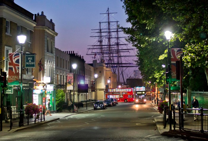 Greenwich at Night