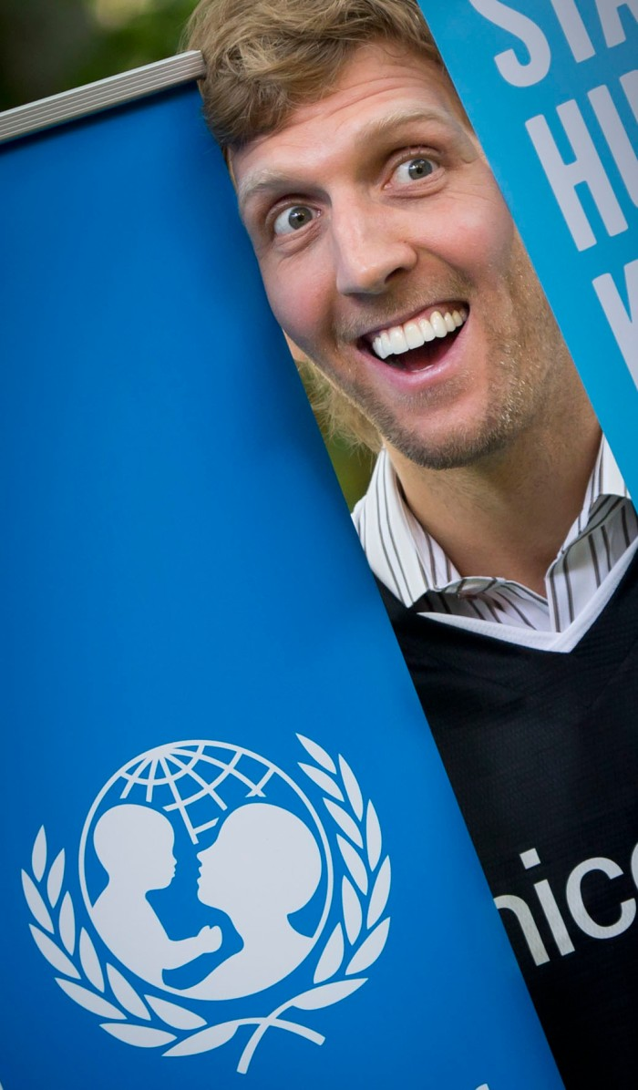 Nowitzki for Unicef
