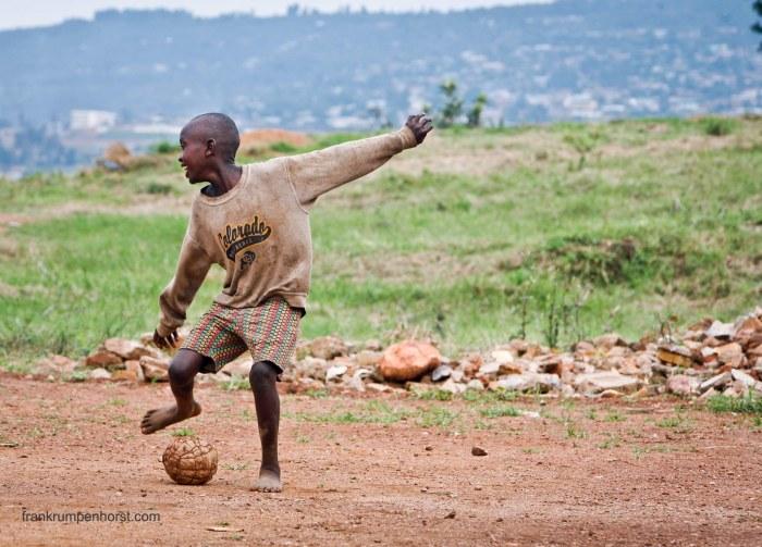 Soccer in Kigali