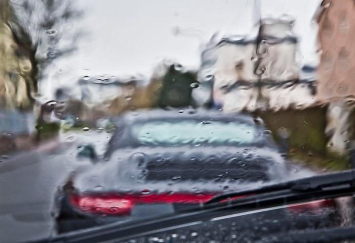 Blurred Porsche