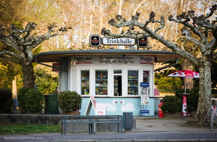 Typical Frankfurt Kiosk