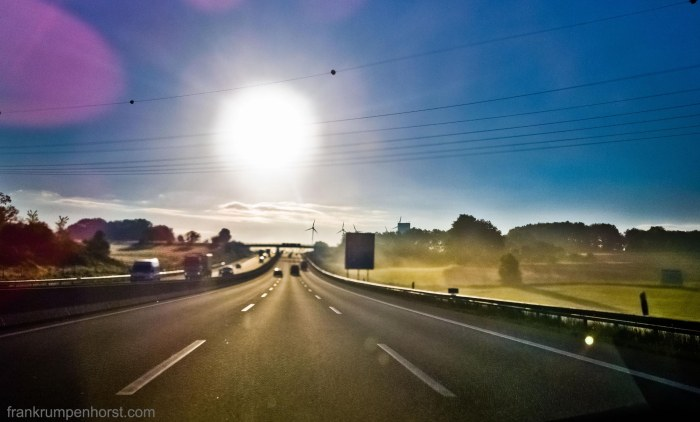 Morning on the Autobahn